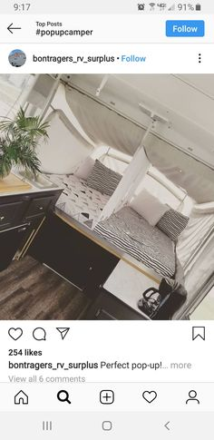 We don't have this style of rv, I saved it because it's a genius way to make those big tent trailer beds into more useable space for siblings. So cute and functional, the best! Camper Beds, Tent Campers, Diy Camper, Camper Trailers, Jayco Pop Up Campers, Camper Life, Travel Trailers, Popup Camper Remodel, Camper Renovation