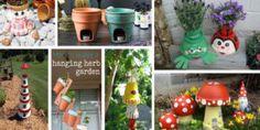 15+ Ideas Originales y Decorativas con Macetas de Arcilla