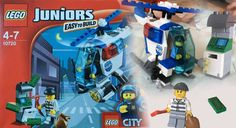LEGO juniors 10720 : LEGO CITY POLICE HELICOPTER Easy to build