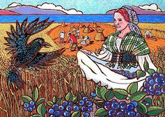 Lughnasadh (pronounced Loo-NAS-ah), is the first harvest festival. It has been celebrated by pagan cultures in England for thousands of year. Wiccan Sabbats, Paganism, Tarot, Raven And Wolf, Harvest Crafts, Fire Festival, Harvest Season, Harvest Time, Beltane
