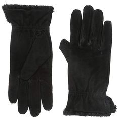 8c6530c7c Buy isotoner Women's Genuine Suede Cold Weather Gloves with Warm, Soft  Lining