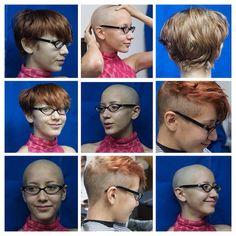 Hair Dye Colors, Hair Color, Bald Girl, Shaving Razor, Bald Heads, Hair Tattoos, Shaved Head, Bowl Cut, Bad Hair