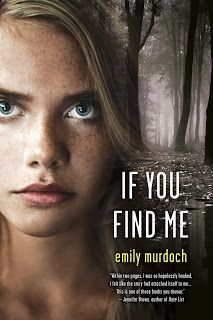 For ten years, Carey and Janessa have been hiding in the woods with their mother. She's been gone for months now, however and they are going to starve unless something changes – and it does. Carey's father has appeared to take them in.  Don't read this unless you want to cry.