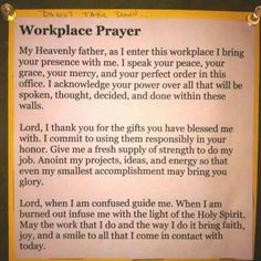 14 Best Prayer for workplace images in 2019 | Prayer for