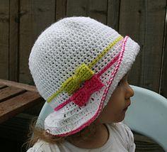 Summer crochet hat #crochetpattern #crochet