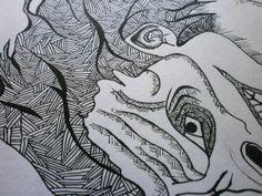 Pen Illustrations ( I ) by Samreen Butt, via Behance