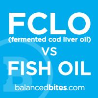 Fermented cod lover oil versus fish oil. Read! Read!
