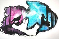 14117785 10154143746354475 8349602675910248769 n j Cool Art Drawings, Cute Animal Drawings, Art Sketches, Wolf Drawings, Drawing Ideas, Wild Animals Drawing, Tame Animals, Animals And Pets, Funny Animals
