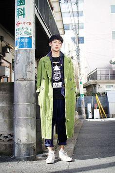 Japan #streetstyle / #MIZUstyle