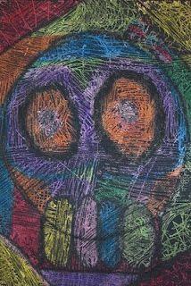 Dia De Los Muertos Scratch Art