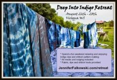 Deep Into Indigo Retreat  Theres Still Time!!! http://ift.tt/2iY65iS