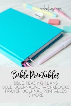 Bible Printables to help you in your walk with Christ! Over 20 Bible reading plans plus Bible journaling and prayer journaling printables!