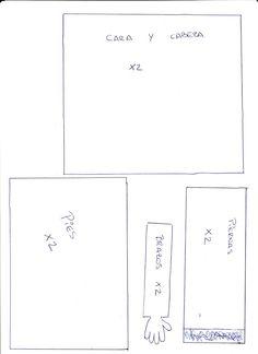 Paso a paso, estructura básica de una fofucha | Manualidades