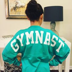Spirit jersey-gymnast! Adult and youth sizes available.