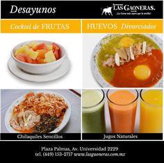 Que se te antoja desayunar hoy? Te esperamos #LasGaoneras para que disfrutes del gran sabor de nuestros #desayunos.