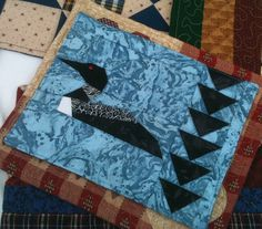 Loon Quilt | Bird quilts | Pinterest | Bird quilt and Quilted wall ... : loon quilt pattern - Adamdwight.com