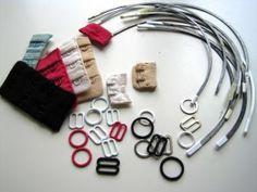 Salvaged Bra Parts