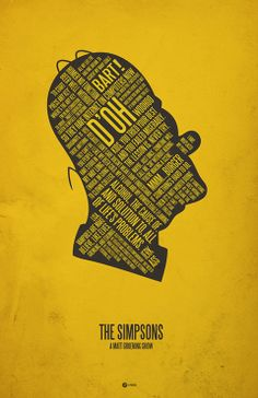 Movie quotes poster - The Simpsons