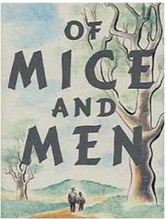 NO PREP Of Mice and Men Novel Study Bundled Lesson Plans & Student Packet for high school english. This packet contains 22 script-like, easy to follow lesson plans and an accompanying no-prep student packet with common-core aligned pre and post reading assignment with simple rubrics to use alongside the novel, Of Mice and Men. #ofmiceandmenunit