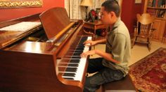 RADIOACTIVE - Imagine Dragons Piano Cover by Blind Piano Prodigy Kuha'o ...