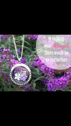 Origami Owl  Living Locket - butterflies theme - $39 * Order: www.whoodatowl.origamiowl.com