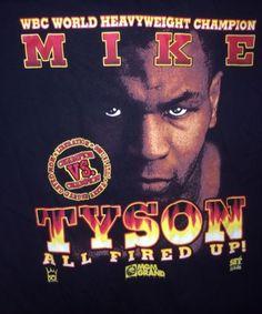 ★Mike Tyson vs Seldon★ Boxing 1996 Authentic Shirt TUPAC RARE XL NEW MGM Vegas★