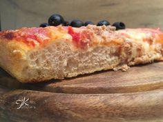 Pizza altissima con lievito di birra e biga Fulvia's Kitchen