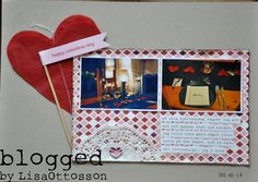 my life - perfectly imperfect: Valentine´s day - the page