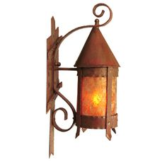 1stdibs | Mission, Arts U0026 Crafts Outdoor Wall Sconce With Mica Inserts