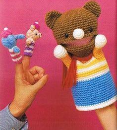 Watch This Video Incredible Crochet a Bear Ideas. Cutest Crochet a Bear Ideas. Crochet Bear, Love Crochet, Crochet Gifts, Crochet Animals, Crochet For Kids, Crochet Dolls, Puppet Patterns, Amigurumi Patterns, Amigurumi Doll