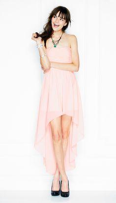 Pleated High Low Dress from Delia's! Sooooooo pretty!