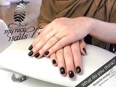 Nice Nails – Nail Design   Nail Art by My Nice Nails – ⓌⒽⒶⓉ ⒹⓄ ⓎⓄⓊ ⓉⒽⒾⓃⓀ? For more inspiration and info visit us at www.mynicenails.ch #MyNiceNails #gelnails #nails #nailstagram #nailswag #naildesigns #nailart #nailartdesigns #manicure #pedicure #nailpolish #shellac #shellacnails #nailszürich #manicurezurich #nailsalonzurich #gelnägelzürich #nailstudiozurich #nagelstudiozürich #gelnailszurich Nail Swag, Short Nail Designs, Nail Art Designs, Fun Nails, Nice Nails, Nail Polish, Black Nails, Shellac, Short Nails