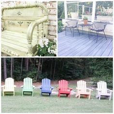Paint Your Way Outdoors this Spring with Chalk Paint® decorative paint by Annie Sloan. Enjoy some fun and fabulous outdoor projects via The Palette Blog