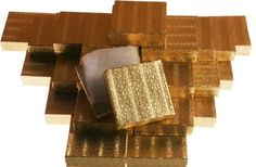 50 Gold Cotton Filled Jewelry Gift Boxes35x35 -- Check out the image by visiting the link.
