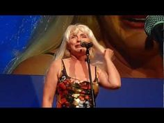 """Debbie Harry of #Blondie sings """"Heart Of Glass"""" a cappella at #canneslions"""