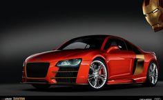 Audi R8 Iron Man HD Wallpaper