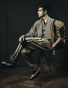 Damir Doma Men's A/W12/13   Look XII featured in How To Spend It, Financial Times (September 2012)