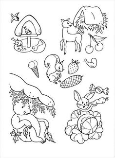 Winter Crafts For Kids 2020 Frozen Coloring, Coloring Pages, Colouring, Forest Animals, Woodland Animals, Feeding Birds In Winter, Activities For 5 Year Olds, Kids English, Step Kids