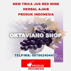 RED WINE NEW TRICA JUS INDONESIA