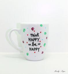 Happy Tasse die Geschenkidee Tasse für Happy End von Lovely-Cups auf DaWanda.com