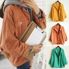 Korean students jean jacket SE8685
