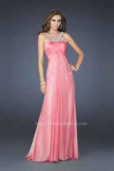 La Femme Dress 17452 at Peaches Boutique