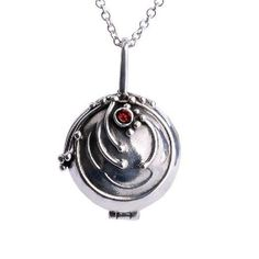 Diaries of Elena Vampire Pendant Sterling Silver Necklace Verbena Jewelry (PENDANT ONLY)