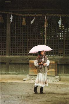 宮﨑あおい A girl in mori style at a temple. Forest Fashion, Boho Fashion Fall, Mori Girl Fashion, Vintage Fashion, Research Images, Forest Girl, Granny Chic, Clothes Pictures, Style Inspiration