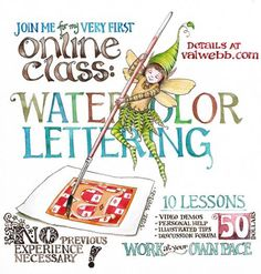 BlogPostLetteringFlyer. Blog entries cover many how-to's