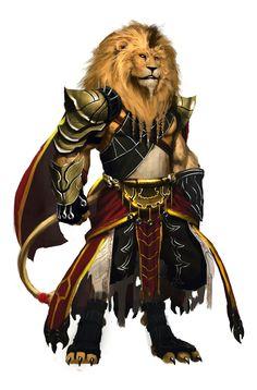 Lion warrior 1 by orochi-spawn.deviantart.com on @DeviantArt