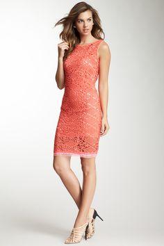 Elie Tahari Alyse Cotton Lace Dress