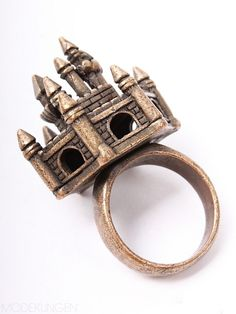 Castle Ring. This should be a miniature of Hogwarts Castle, then I would buy it!