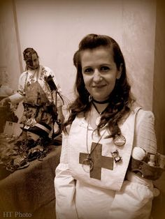 Steampunk nurse