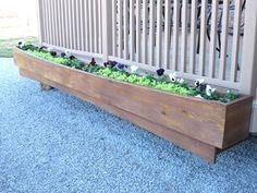picture of Deck Planter Box